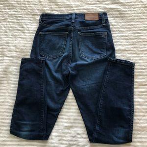 Madewell Skinny High Rise Jeans - 25
